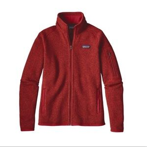 Red Patagonia Better Sweater Jacket!